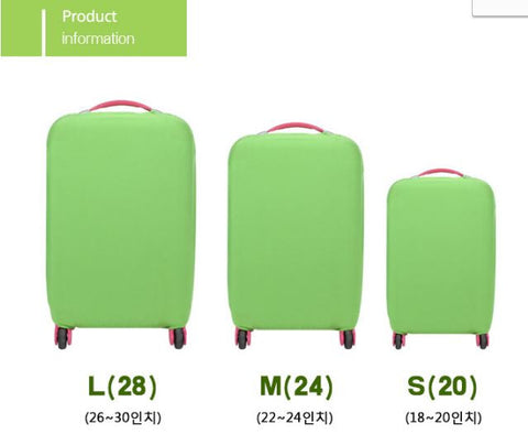Trolley Covers Trolley Protector Luggage Cover Dust Cover Green Trolley Cover- Available online on Buyvel