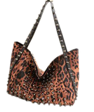 Beast with Metal Riveted Bag Handbags- Available online on Buyvel