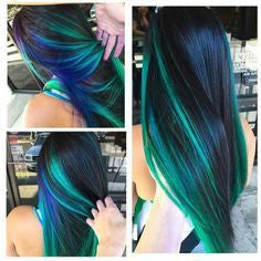 Hair streaks Colorful, Easy to use