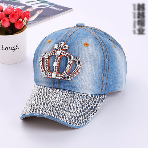 Crown Glittery Cap