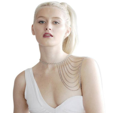 Shoulder Multi Chained Accessory Body Jewelry- Buyvel