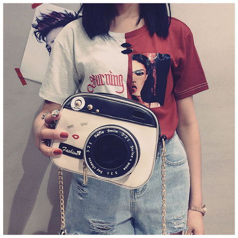 Camera click click Sling Bag Sling bags- Available online on Buyvel