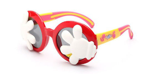 Kids Mickey Gloves Sunglasses Red Head2Toe- Available online on Buyvel