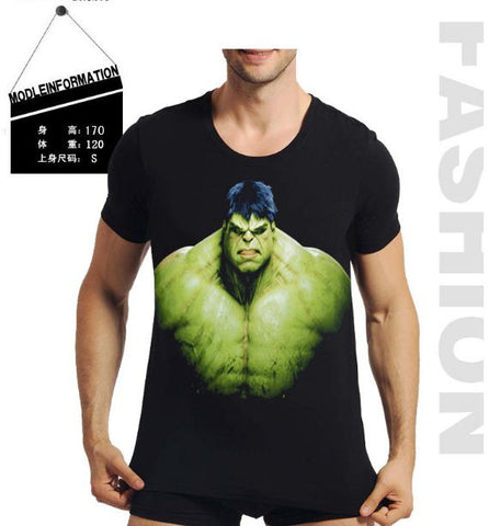 WTF 3D Print Hulk Within T shirt men's Tshirt- Available online on Buyvel