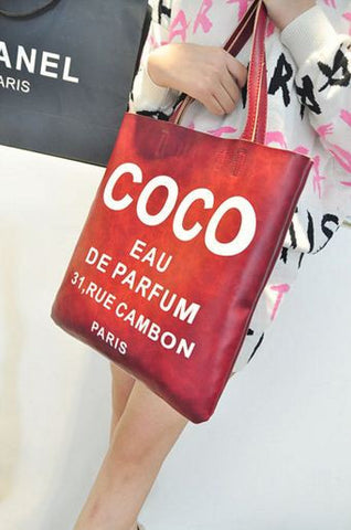 Bold Coco Shoulder Fashion Tote Bag - Buyvel