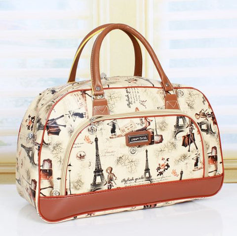 Jimmy Ch** High-capacity waterproof Unisex Travel bag Multi designs Parisial Travel Bags- Available online on Buyvel