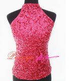 Free Size Sequinned Top with attached Lining Blue Tops, Tees & Shirts- Available online on Buyvel