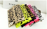 A1 Neon burst Cutwork Envelope Clutches cum Sling - Buyvel