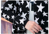Star Print Winter Cardigan Cum Shawl Winter Wear- Available online on Buyvel
