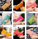 Herm*s 2016 Trendy Wallet Cum Clutch in 10 Beautiful Colors - Buyvel