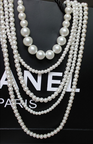 Pearl Fashion Multilayerd Set Necklace & Pendants- Buyvel