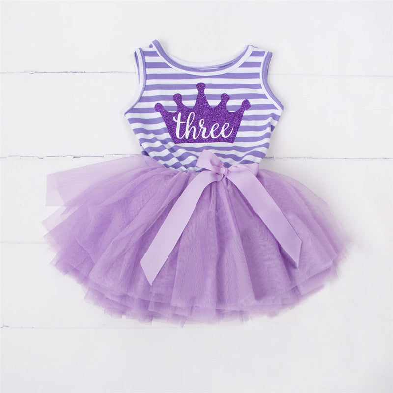 Little Baby Party Frocks Tutu Outfits Children\'s Birthday Dresses ...