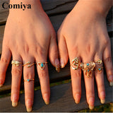 Fusion Rings Set of 8 Rings- Available online on Buyvel