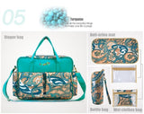 Baby Diaper Bags (4 piece) for Mom Waterproof & Multi-functional 5 colors Kitty Bags- Available online on Buyvel
