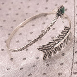 Antique Silver Spiral Arrow Tribal Armlet Bracelets & Anklets- Available online on Buyvel