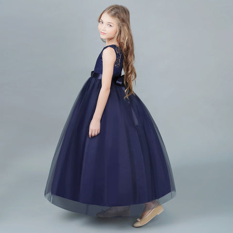 Flower Girl Dress Princess Pageant Formal Party Dresses Wedding ...