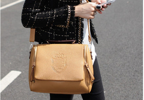 Everyday Sling Bags Brown Sling bags- Available online on Buyvel