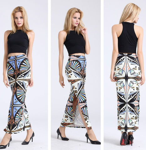 Long Shift Maxi Long Skirt Shorts & skirts- Available online on Buyvel