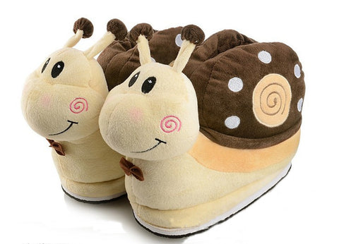 Winter Slipper Snail Brown Winter Wear- Available online on Buyvel
