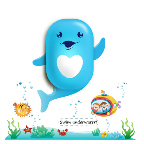 LED Night light Dolphin Cartoon 3D DIY Wall Sticker Lamp Sensor Controller Electronic toys- Available online on Buyvel