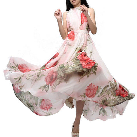 Large size Pendulum Style Floral Gown Dresses- Available online on Buyvel