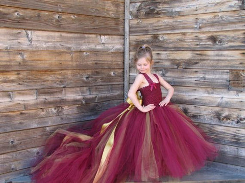 Long Flayerd TUTU Dress Girl's dresess- Available online on Buyvel