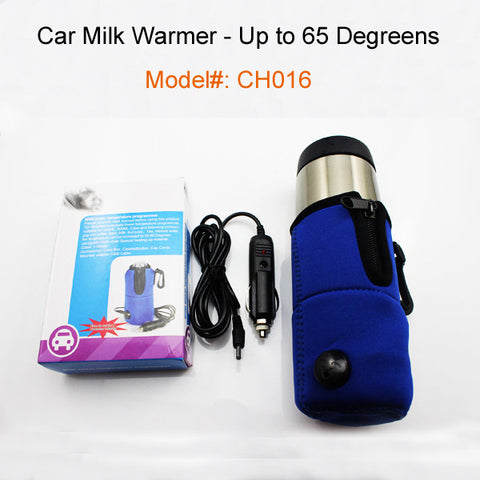 Baby Bottle Warmers for Car to keep Milk or Water Warm Baby Essentials- Buyvel