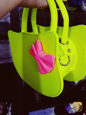 Hello Kitty Bags Fluorescent yellow Creative Bags- Available online on Buyvel