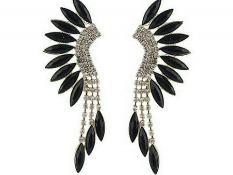 Fab Earing Black Head2Toe- Available online on Buyvel
