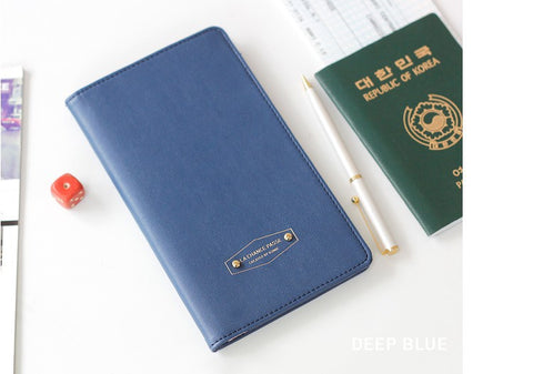 Passport holder smart traveler Wallets & Clutches- Available online on Buyvel