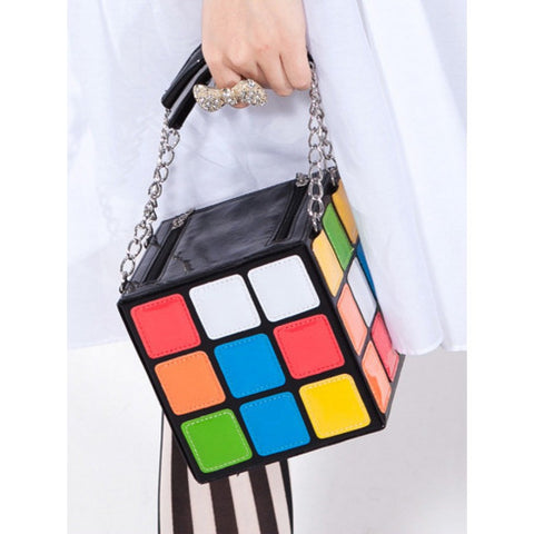 Kids Square Vanity Box Cum Sling Box Creative Bags- Available online on Buyvel