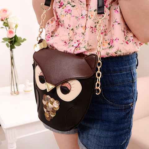 Alluring European Owl Sling Bag Sling bags- Available online on Buyvel