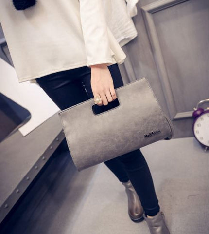 Korean Fashion Style Business Clutch Cum Sling Creative Bags- Buyvel