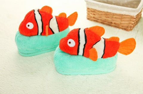 Winter Slippers Nemo Fish Winter Wear- Available online on Buyvel
