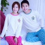 Couple Night Suit - Couple night dress Pink Blue Couple Night Suit- Available online on Buyvel