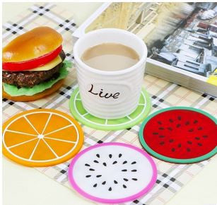 Fruit Tea coaster Set of 6 - Available online on Buyvel