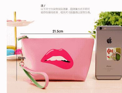 Trendy Pouch Bag Pink Handbags- Buyvel