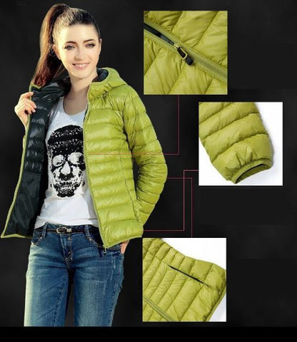 Full Sleeves Parachute Jacket Green Winter Wear- Available online on Buyvel