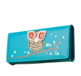 Owl Wallet Black Wallets & Clutches- Available online on Buyvel