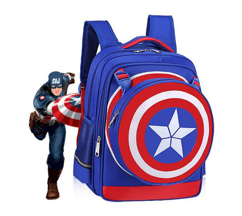 Captain America Bag Blue