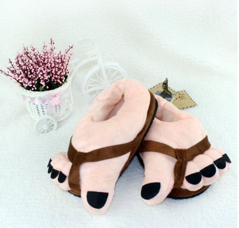 Winter Slippers Brown Fingers Winter Wear- Available online on Buyvel