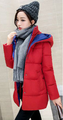 Red Long Jacket Winter Wear- Available online on Buyvel