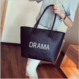 Drama Queen Handbag Black Handbags- Available online on Buyvel