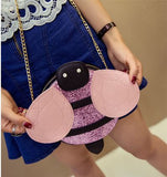 B'Fly Sling Pink Sling bags- Available online on Buyvel