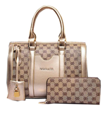 New Elegant Bag With Clutch Golden Set Bags- Available online on Buyvel