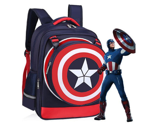 Captain America Bag Nevy Blue