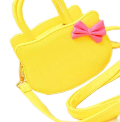 Hello Kitty Bags yellow Creative Bags- Available online on Buyvel