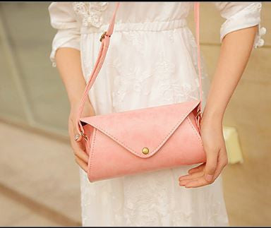 Can-velope Clutch Baby Pink Wallets & Clutches- Buyvel