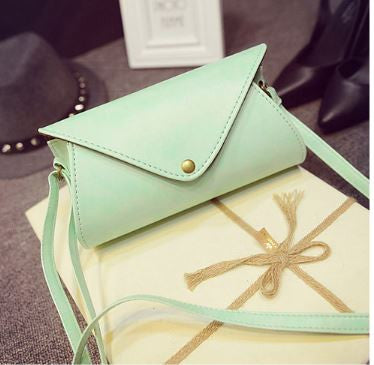 Can-velope Clutch Mint Wallets & Clutches- Buyvel