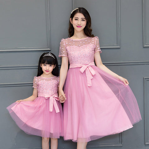 Matching Mother Daughter Wedding Dress